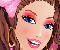 Barbie színes  partija