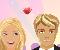 Barbie és Ken csókolózós játék