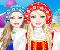 Barbie mint orosz baba