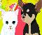 Kutya és Cica öltöztetõ