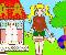 Barbie-Mimi szinezõ játék